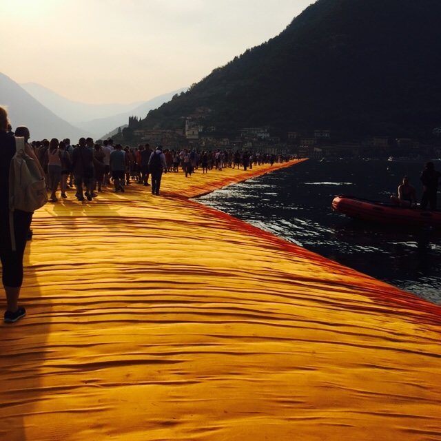 2016/06/24 :: THE FLOATING PIERS, CHRISTO